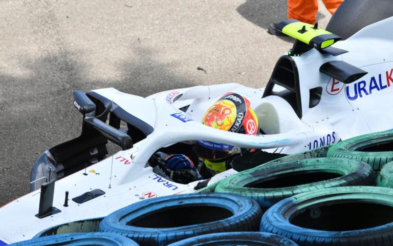 Mick Schumacher po nehode