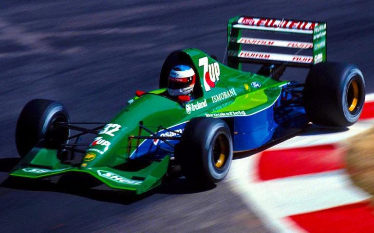 Michael Schumacher v Jordane 191