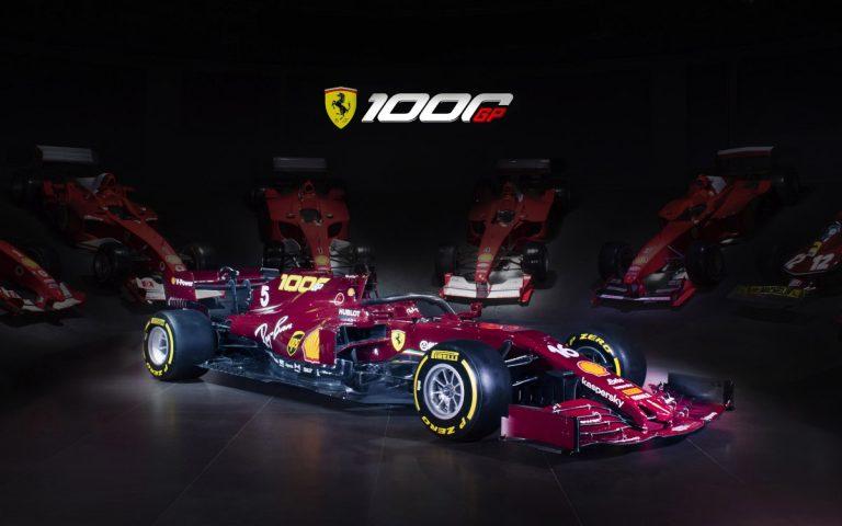 Monopost Ferrari – Toskánsko 2020