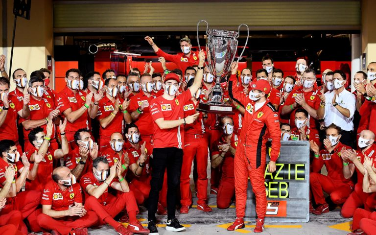 Sebastian Vettel, rozlúčka s Ferrari