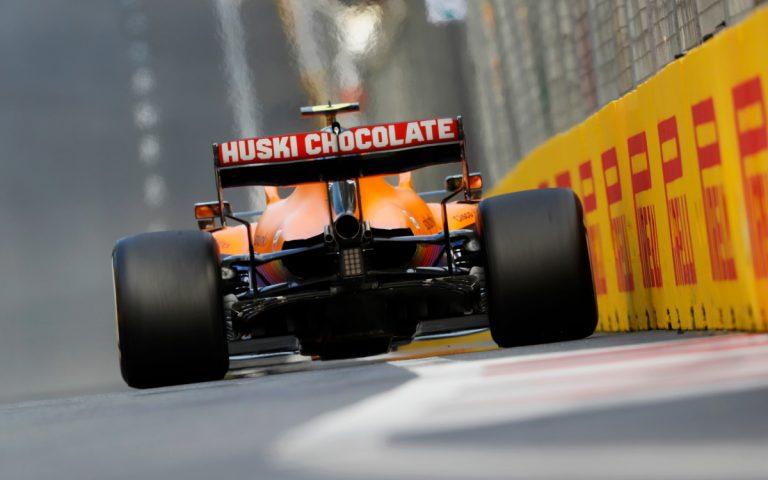 Lando Norris, McLaren zozadu