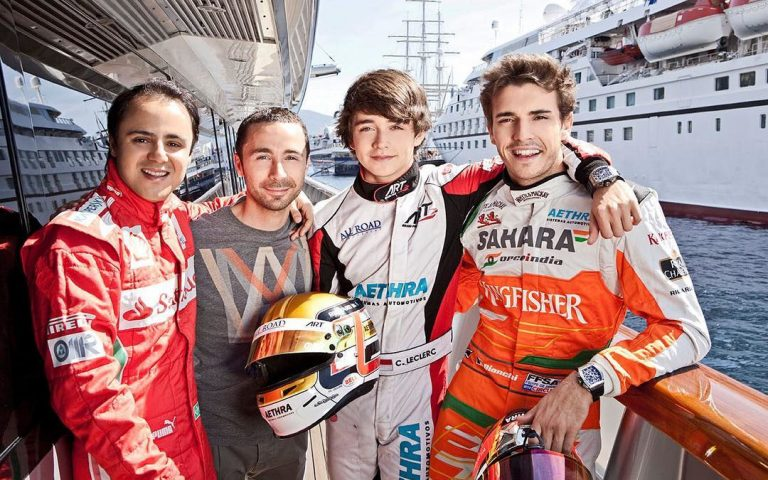 Felipe Massa, Nicolas Todt, Charles Leclerc, Jules Bianchi