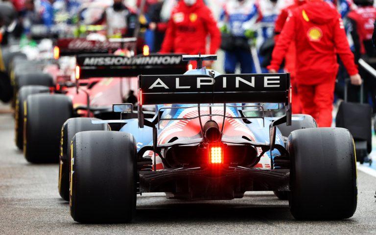 Fernando Alonso, Alpine zozadu