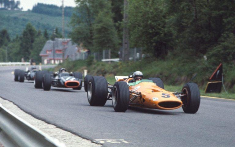 Bruce McLaren, GP Belgicka 1968, McLaren M7A