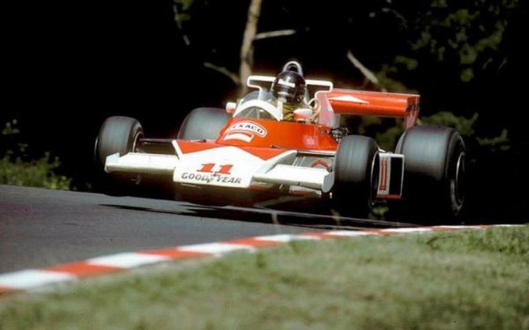 James Hunt, McLaren-Ford M23, Nurburgring 76