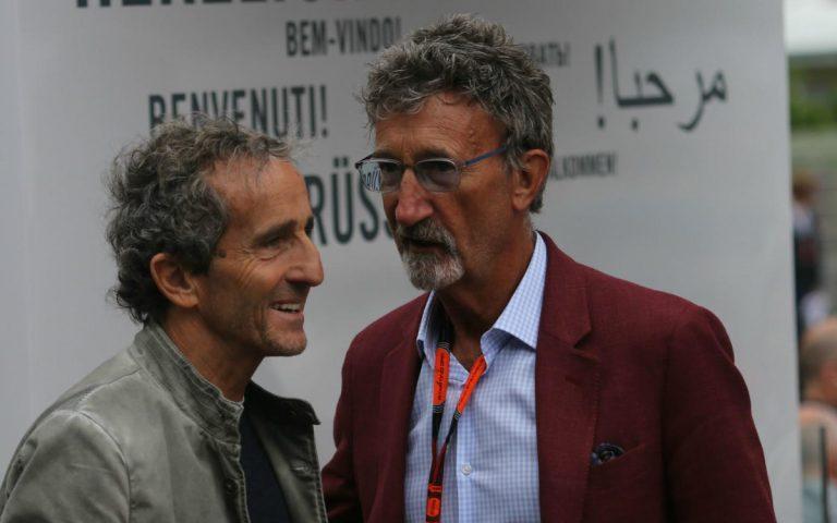 Alain Prost a Eddie Jordan