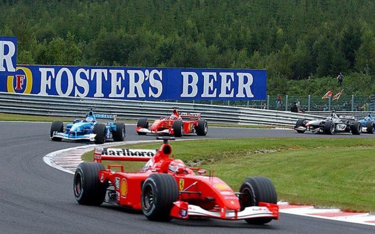 Michael Schumacher, GP Belgiska 2001