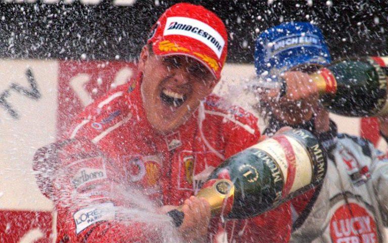 Michael Schumacher na VC Japonska 2004