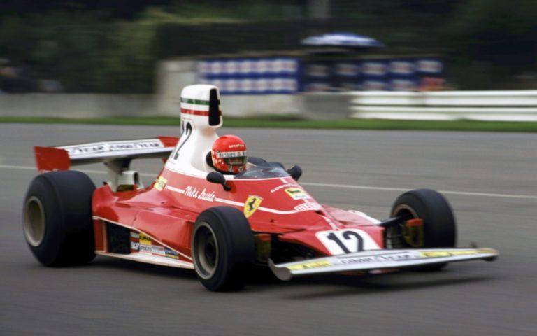 Niki Lauda, Ferrari 312T, VC Talianska 1975