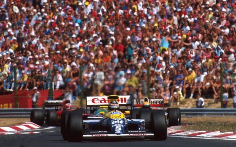 Thierry Boutsen, VC Maďarska 1990
