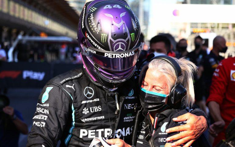 Lewis Hamilton a Angela Cullen