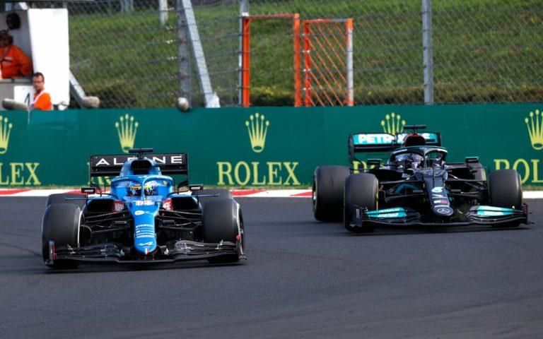 Lewis Hamilton a Fernando Alonso