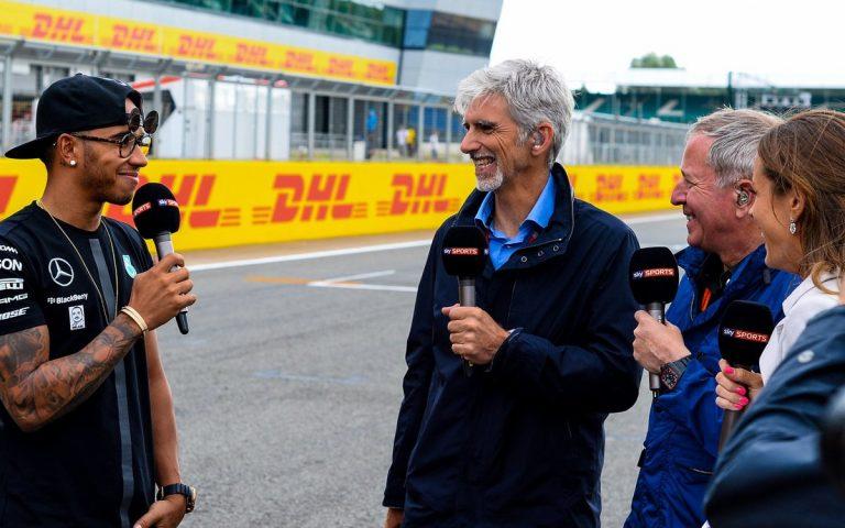 Lewis Hamilton, Damon Hill, Martin Brundle