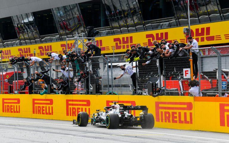 Lewis Hamilton vyhral VC Štajerska 2020