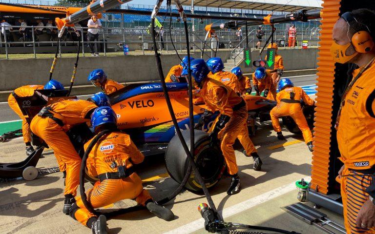 Carlos Sainz v boxoch