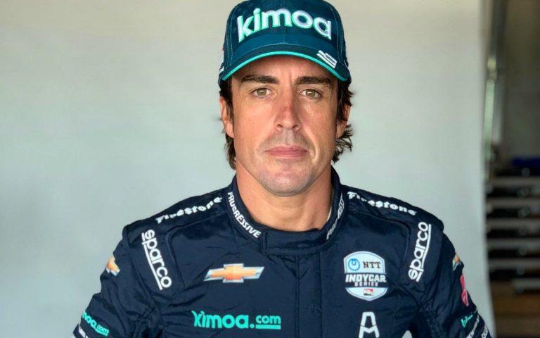 Fernando Alonso na Indy 500, 2020