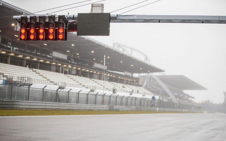 Štartové svetlá, hmla, Nürburgring