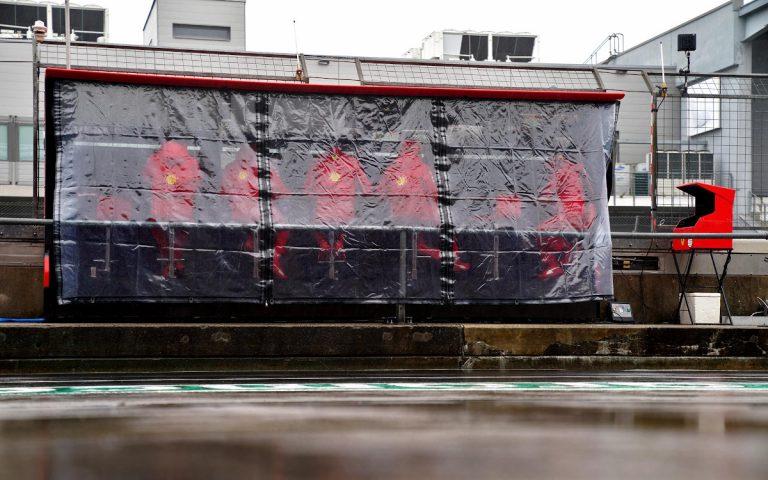 Boxový múrik Ferrari, ilustračné