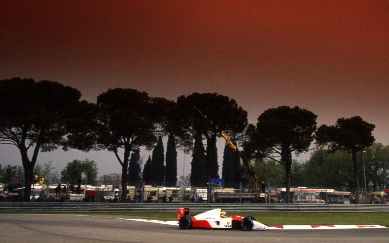 Ayrton Senna, GP San Marína 1991, McLaren-Honda MP4/6