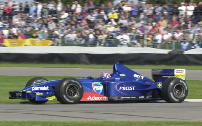 Tomáš Enge, Indianapolis 2001