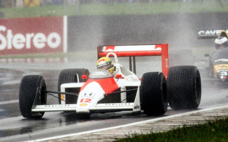 McLaren MP4/4, Ayrton Senna
