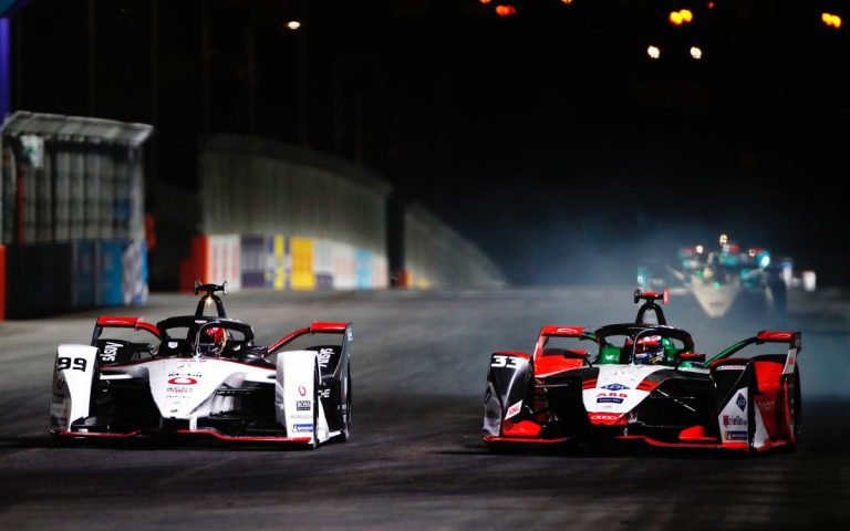 Pascal Wehrlein a René Rast, Formula E