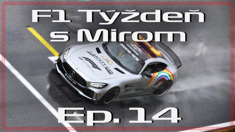 F1 týždeň s Mirom – epizóda 14