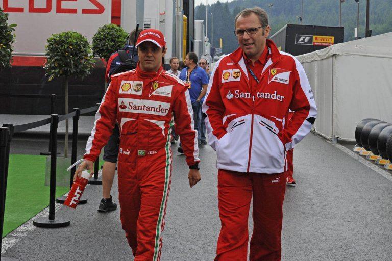 Felipe Massa a Stefano Domenicali