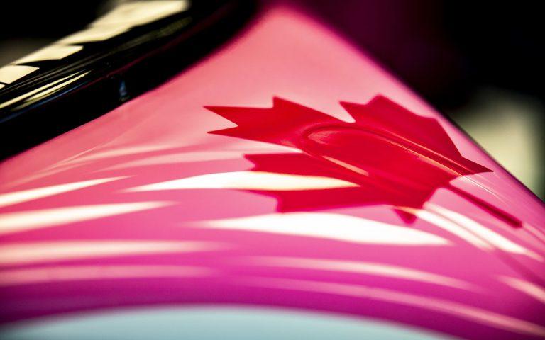 Javorový list – Kanada – Racing Point – Stroll