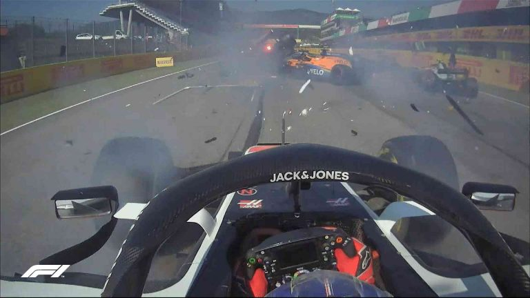 Onboard Romain Grosjean