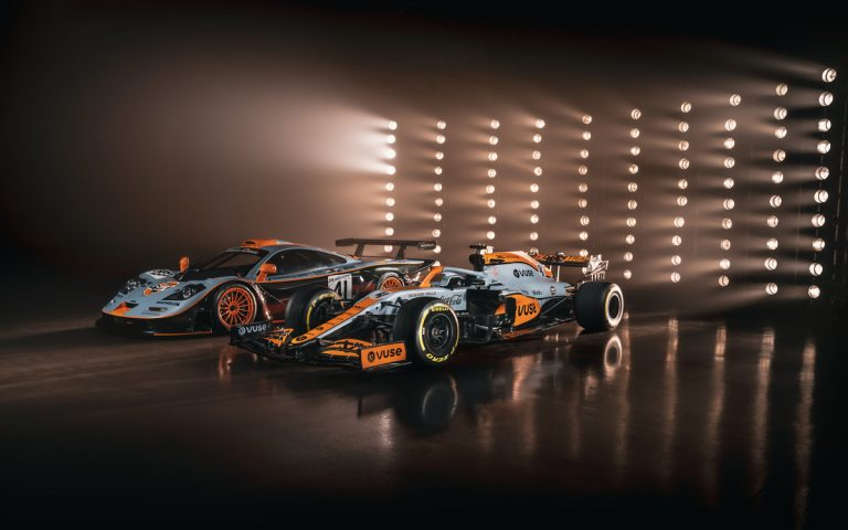 Gulf Lakovanie McLarenu pre Monako 2021