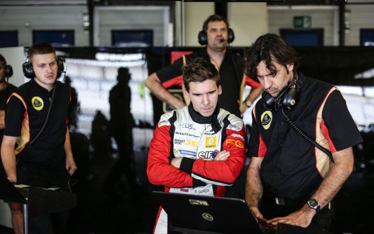 Richard Gonda na testoch v Jereze