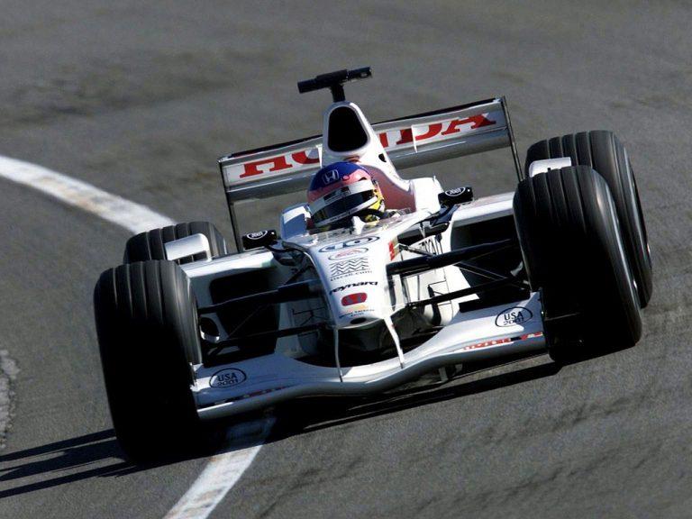 Jacques Villeneuve BAR rok 2001