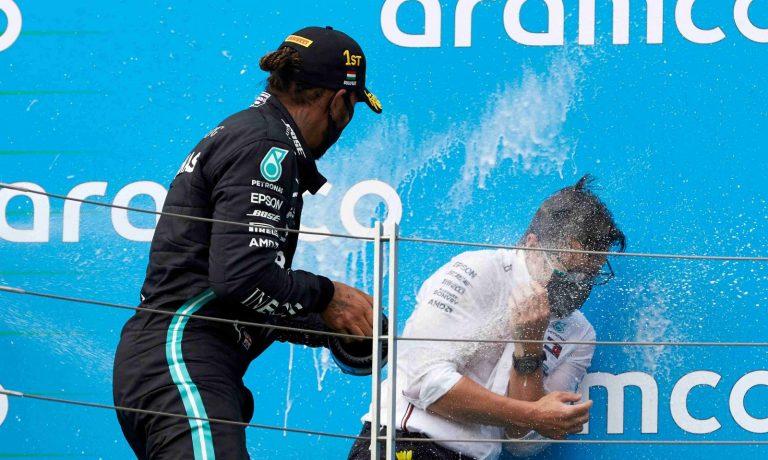 Lewis Hamilton a Peter Bonnington