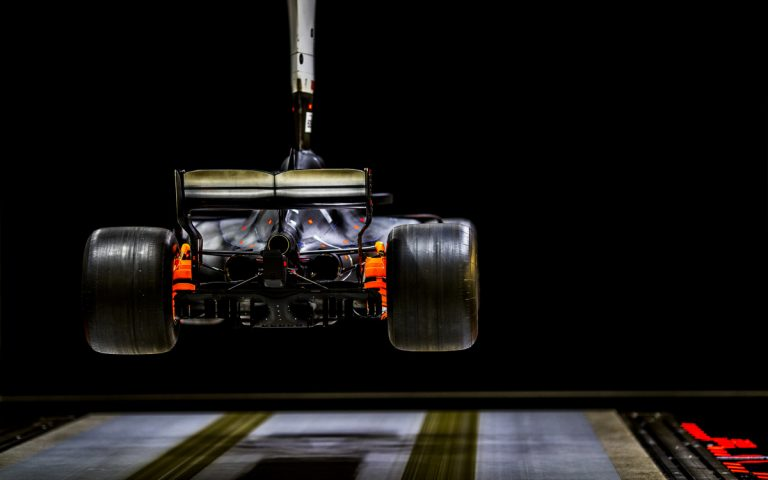 Veterný tunel, aerodynamika, Brackley