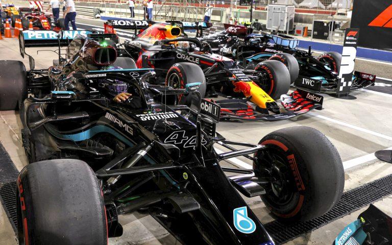Lewis Hamilton po víťazstve v Bahrajne 2021