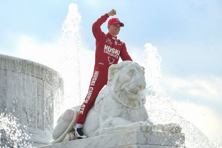 Marcus Ericsson po víťazstve v IndyCar – Detroit 2021