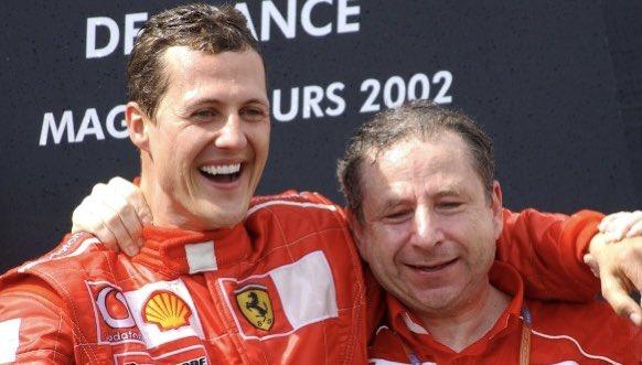Michael Schumacher a Jean Todt