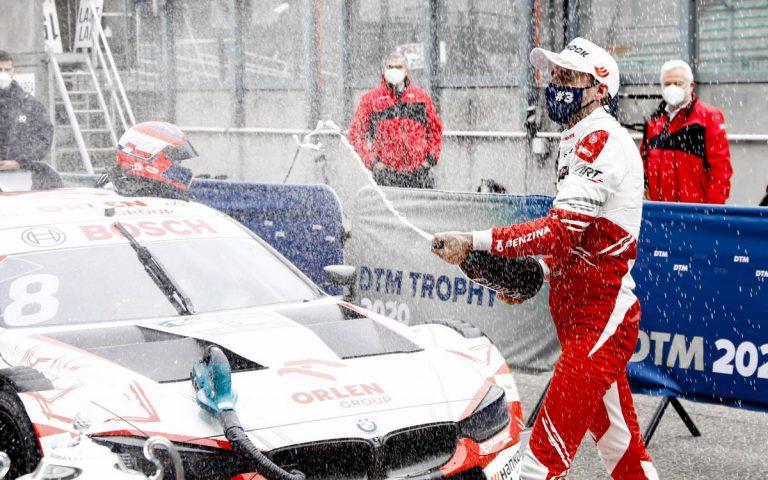 Robert Kubica po treťom mieste v DTM