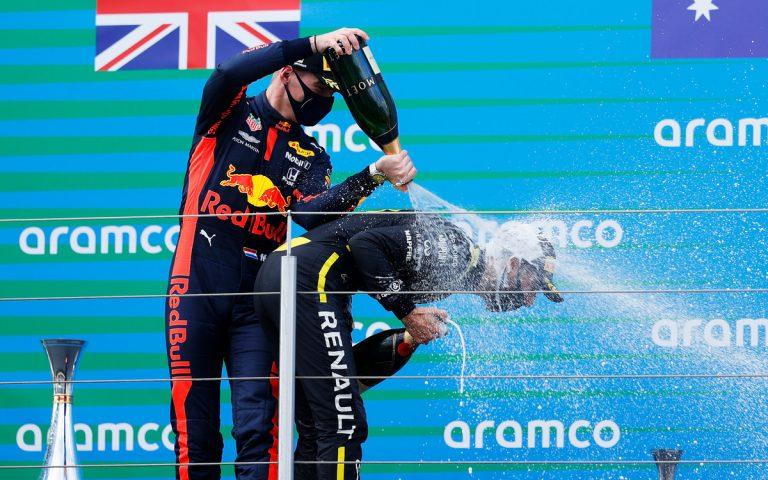 Max Verstappen a Daniel Ricciardo