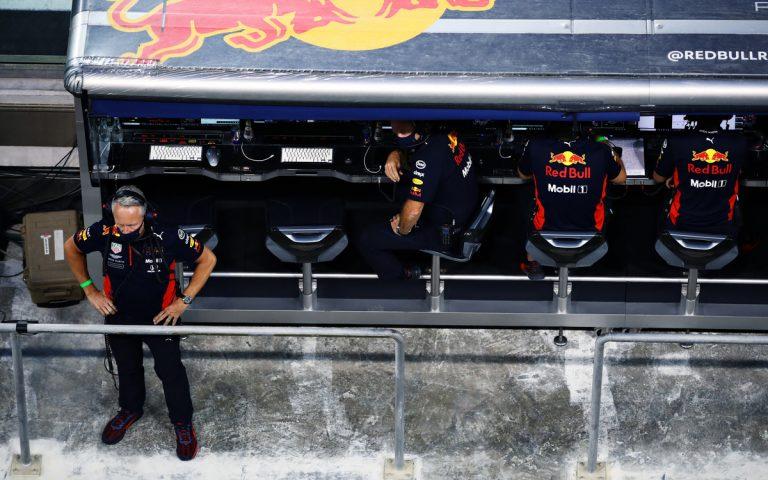 Jonathan Wheatley, boxový múrik Red Bullu