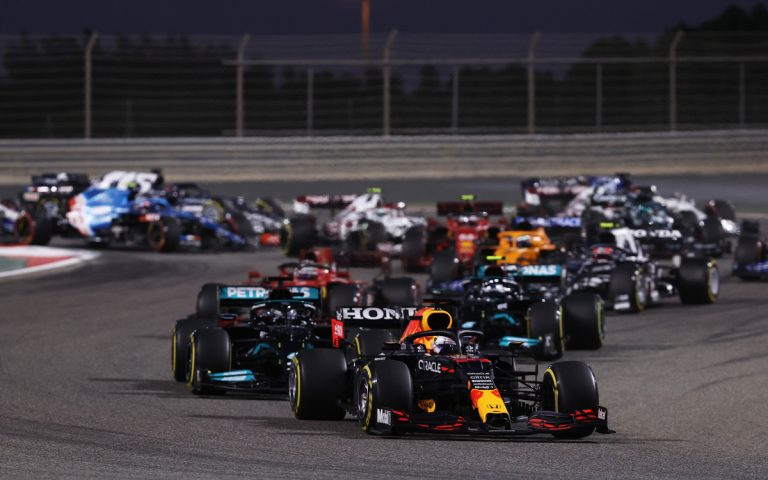 Po štarte VC Bahrajnu 2021, Max Verstappen