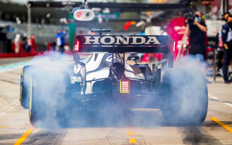 Júki Cunoda, Honda, pneumatiky Pirelli