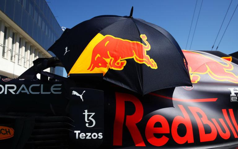 Dáždnik Red Bullu, ilustračné