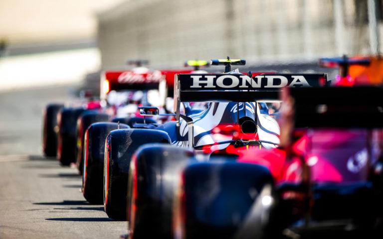 Pierre Gasly, Honda, monoposty zoradené v boxovej uličke