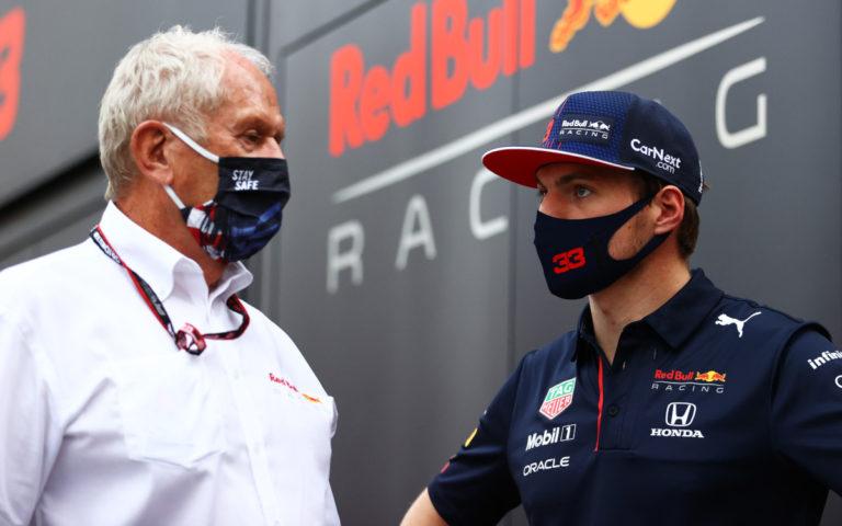 Helmut Marko a Max Verstappen