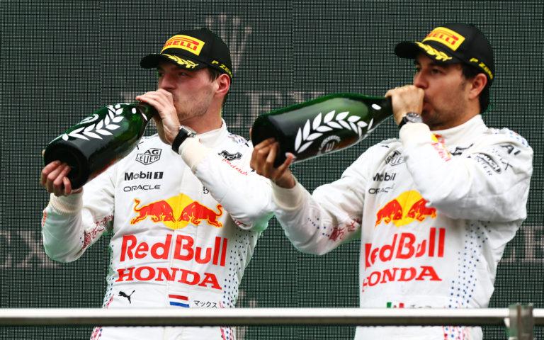 Max Verstappen, Sergio Pérez