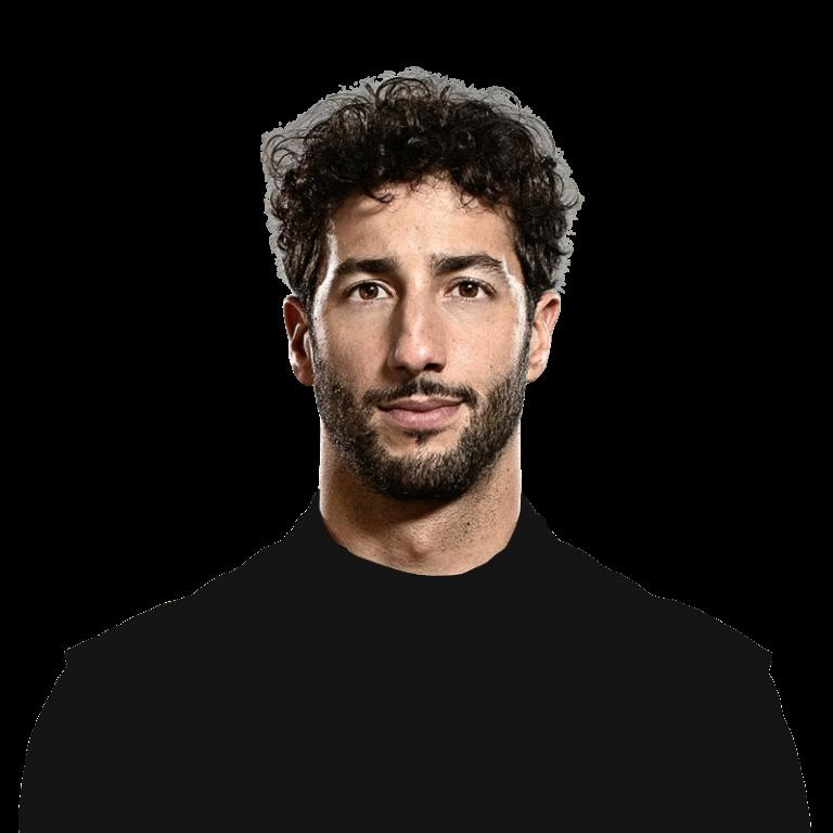 Portrét pilota Daniel Ricciardo