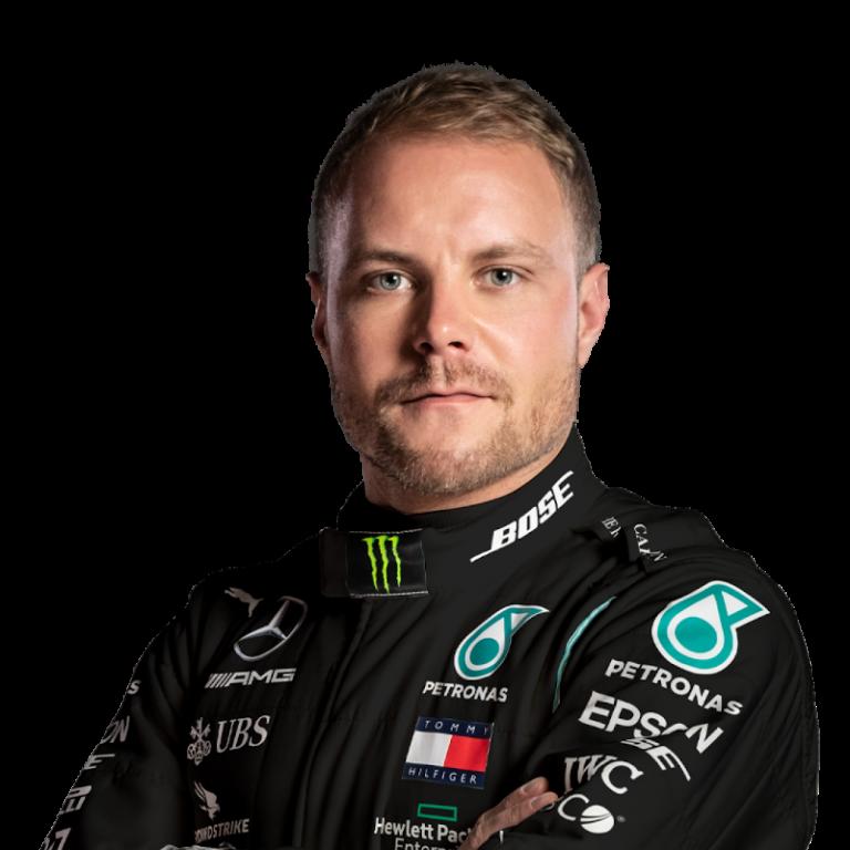 Portrét pilota Valtteri Bottas