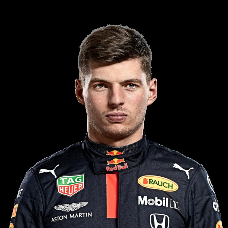 Portrét pilota Max Verstappen